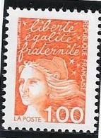 TIMBRE N° 3089  -  MARIANNE DE LUQUET  -  NEUF  - 1997 - Francia