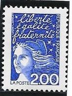 TIMBRE N° 3090  -  MARIANNE DE LUQUET  -  NEUF  - 1997 - Francia
