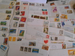 France Collection 50 Lettres Moderne Que Des Timbres Commemoratifs - France