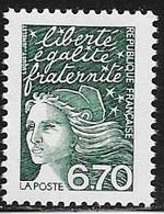 TIMBRE N° 3098  -  MARIANNE DE LUQUET  -  NEUF  - 1997 - Francia