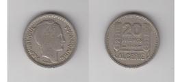 ALGERIE - 20 FRS 1949 - Algérie
