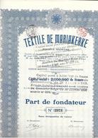 Textile De Mariakerke - 1924 - Textile
