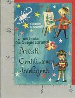 CARTOLINA NV ITALIA - ASTROLOGIA - Segni Zodiacali - SCORPIONE - CECAMI 1609 - 10 X 15 - Astrologia