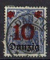 Danzig 1920 // Mi. 17 O - Danzig