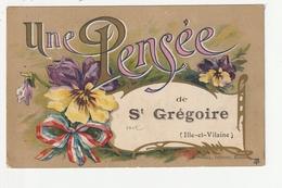 UNE PENSEE DE SAINT GREGOIRE - 35 - France