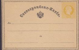 Austria Postal Stationery Ganzsache Entier 1869, 2 Kr. Postkarte M. Doppelter Zierumrandung Kaiser Franz Joseph (Unused) - Ganzsachen
