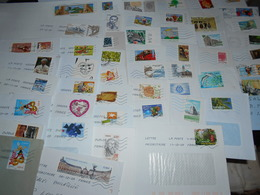 France Collection 50 Lettres Moderne Beaucoup  De Timbres Commemoratifs - France