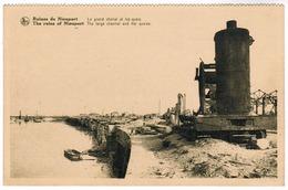 Nieuwpoort, Nieuport, Le Grand Chenal Et Les Quais (pk55327) - Nieuwpoort