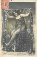 - Spectacle - Theatre - Artistes -ref C742 - Femmes - Femme - Artiste - Vampa Et Son Beau Voile - - Künstler