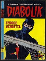 """DIABOLIK N ° 2 """" FEROCE VENDETTA """" DE 1969 - Diabolik"""