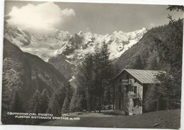 W1379 Courmayeur (Aosta) - Albergo Ristorante Ermitage - Panorama / Viaggiata 1960 - Altre Città