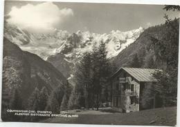 W1379 Courmayeur (Aosta) - Albergo Ristorante Ermitage - Panorama / Viaggiata 1960 - Italy