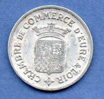 Eure Et Loir  -  25 Centimes 1922 - état  TB+ - Monetary / Of Necessity