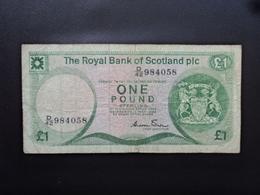 ÉCOSSE : 1 POUND   1.5.1986    P 341Aa     TB - 1 Pound