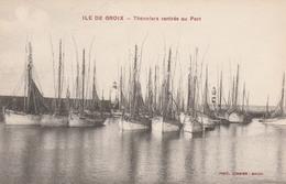 56 ILE DE GROIX         Thonniers Rentrés Au Port     TB   PLAN  RARE - Groix