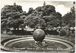 W1381 Piancastagnaio (Siena) - Fontana E Giardini Pubblici / Viaggiata 1963 - Altre Città