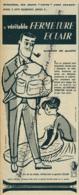Ancienne Publicité (1960) : Veritable FERMETURE ECLAIR, Symbole De Qualité, Dessin Pierre Fix-Masseau - Advertising