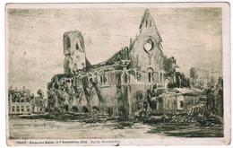 Nieuwpoort, Nieuport, Ruine Des Halles (pk55329) - Nieuwpoort
