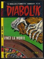"""DIABOLIK N ° 12 """" VINCE LA MORTE """" DE 1976 - Diabolik"""