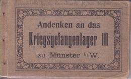 Munster- Souvenir Du Camp De Prisonniers III- Andenken An Das Kriegsgefangenlager III 30 Cartes - Guerre 1914-18