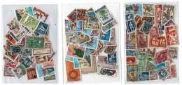 Timbres D'Algérie: 6 Pochettes Scannées( Timbres Non Comptés)+1 Pochette De 120 Timbres Scannés+496 Vrac Non Scannés - Timbres