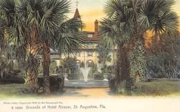 A-19-2508 : SAINT AUGUSTINE.  GROUNDS OF HOTEL ALCAZAR. - St Augustine