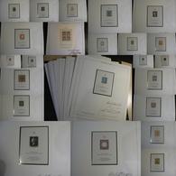 Ensemble De 22 Reproductions Des Premiers Timbres Du Monde - Blocs Pour Le Salon De La Philatélie à Hambourg En 1984 - Timbres
