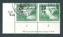 MiNr. 449 Druckvermerk - DDR