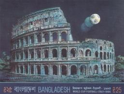 Bangladesch, 1990, Block 17, Fußball-Weltmeisterschaft, Italien. MNH ** - Bangladesch