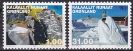 Grönland, 2002, 376/77, Norden. Kunst Des 20. Jahrhunderts. MNH ** - Grönland