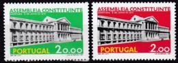 Portugal, 1975, 1283/84, Eröffnung Der Verfassungsgebenden Versammlung. MNH ** - 1910-... Republik
