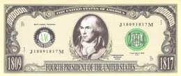 1 Mio Dollar Präsident Serie Madison / Fantasy Banknote - Billets