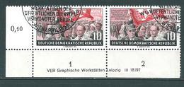MiNr. 452 Druckvermerk - DDR