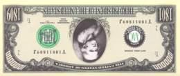 1 Mio Dollar Präsident Serie Thomas Jefferson / Fantasy Banknote - Billetes