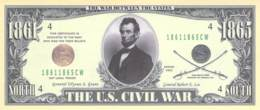 1 Mio Dollar Präsident Serie  Abraham Lincoln / Fantasy Banknote - Other - America