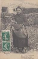 15 - CANTAL - Fille De Ferme - Francia