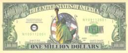 1.000.000 Mio Dollar  / Fantasy Banknote - Billets