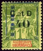 Guadeloupe. Maury #50.I.I. Mint. OG. - Neufs