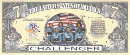 7  Dollar Challenger / Fantasy Banknote - Billets