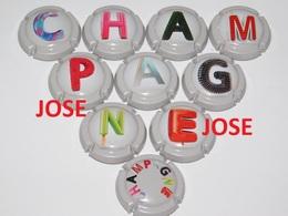 Série De 10 Capsules De Champagne  - GENERIQUE (Champagne) - Champagne