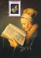D36358 CARTE MAXIMUM CARD 2006 NETHERLANDS - REMBRANDT'S MOTHER BY GERARD DOU CP ORIGINAL - Altri