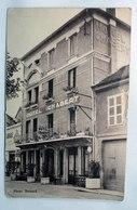 CPA - Carte Publicitaire Hotel CHABERT à Belley Dans L' Ain (01) - Belley