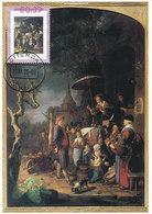 D36359 CARTE MAXIMUM CARD 2006 NETHERLANDS - THE QUACK BY GERARD DOU CP ORIGINAL - Künste