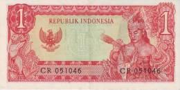INDONESIA P.  80b 1 R 1964 VF - Indonésie
