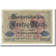 Billet, Allemagne, 50 Mark, 1914-08-05, KM:49a, TB - [ 2] 1871-1918 : Duitse Rijk