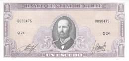 Un Escudo Banknote Chile - Chili