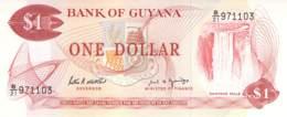 1 One Dollar   Banknote  Guyana - Guyana