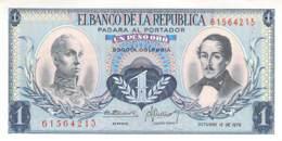 1 Un Peso  Banknote Columbia - Colombia