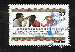 TIMBRE OBLITERE DE MAURITANIE DE 2018 - Mauritanie (1960-...)