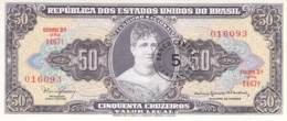 50 Cinquenta Cruzeiros Banknote Brasilien - Brazil